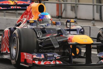 © 2012 Octane Photographic Ltd. Barcelona Winter Test 2 Day 4 - Sunday 4th March 2012. Red Bull RB8 - Sebastian Vettel. Digital Ref : 0234lw7d3776