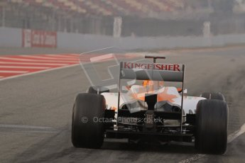 © 2012 Octane Photographic Ltd. Barcelona Winter Test 2 Day 4 - Sunday 4th March 2012. Force India VJM05 - Nico Hulkenberg. Digital Ref : 0234lw7d4074