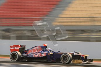 © 2012 Octane Photographic Ltd. Barcelona Winter Test 2 Day 4 - Sunday 4th March 2012. Toro Rosso STR7 - Daniel Ricciardo. Digital Ref : 0234lw7d4591