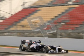 © 2012 Octane Photographic Ltd. Barcelona Winter Test 2 Day 4 - Sunday 4th March 2012. Williams FW34 - Bruno Senna. Digital Ref : 0234lw7d4622
