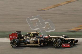 © 2012 Octane Photographic Ltd. Barcelona Winter Test 2 Day 4 - Sunday 4th March 2012. Lotus E20 - Kimi Raikkonen. Digital Ref :  0234lw7d4727
