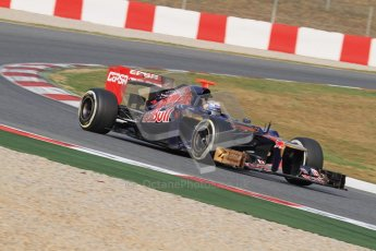 © 2012 Octane Photographic Ltd. Barcelona Winter Test 2 Day 4 - Sunday 4th March 2012. Toro Rosso STR7 - Daniel Ricciardo. Digital Ref : 0234lw7d4881