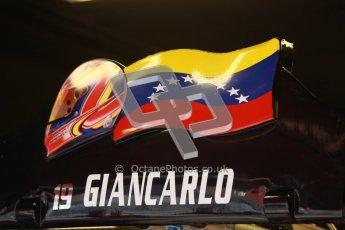 © Octane Photographic Ltd. GP2 Winter testing Barcelona Day 1, Tuesday 6th March 2012. Venezuela GP Lazarus, Giancarlo Senerelli. Digital Ref :