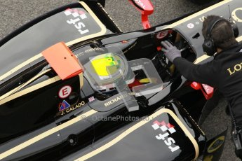 © Octane Photographic Ltd. GP2 Winter testing Barcelona Day 1, Tuesday 6th March 2012. Lotus GP, James Calado, Racing Steps. Digital Ref :