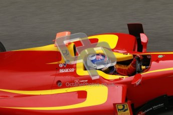 © Octane Photographic Ltd. GP2 Winter testing Barcelona Day 1, Tuesday 6th March 2012. Racing Engineering, Fabio Leimer. Digital Ref :