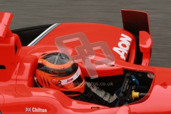 © Octane Photographic Ltd. GP2 Winter testing Barcelona Day 1, Tuesday 6th March 2012. Marussia Carlin, Max Chilton. Digital Ref :
