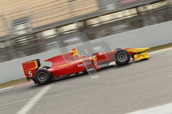 © Octane Photographic Ltd. GP2 Winter testing Barcelona Day 1, Tuesday 6th March 2012. Racing Engineering, Fabio Leimer. Digital Ref : 0235cb1d3771
