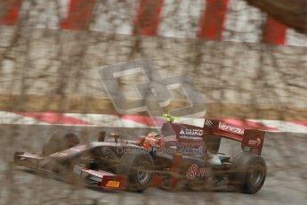 © Octane Photographic Ltd. GP2 Winter testing Barcelona Day 1, Tuesday 6th March 2012. Venezuela GP Lazarus, Giancarlo Senerelli. Digital Ref : 0235cb1d3872