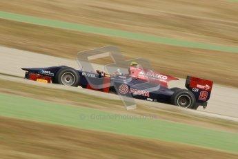 © Octane Photographic Ltd. GP2 Winter testing Barcelona Day 1, Tuesday 6th March 2012. Venezuela GP Lazarus, Giancarlo Senerelli. Digital Ref : 0235cb1d3897