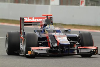 © Octane Photographic Ltd. GP2 Winter testing Barcelona Day 1, Tuesday 6th March 2012. iSport International, Marcus Ericsson. Digital Ref : 0235cb7d0203