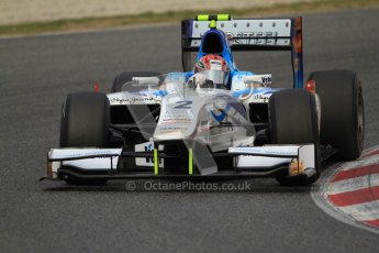 © Octane Photographic Ltd. GP2 Winter testing Barcelona Day 1, Tuesday 6th March 2012. Barwa Addax Team, Josef Kral. Digital ref: 0235cb7d0296