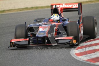 © Octane Photographic Ltd. GP2 Winter testing Barcelona Day 1, Tuesday 6th March 2012. iSport International, Marcus Ericsson. Digital Ref : 0235cb7d0323