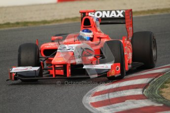 © Octane Photographic Ltd. GP2 Winter testing Barcelona Day 1, Tuesday 6th March 2012. Arden International, Simon Trummer. Digital Ref : 0235cb7d0415