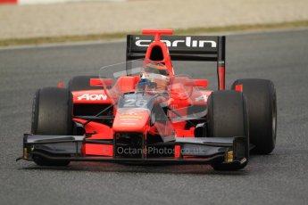 © Octane Photographic Ltd. GP2 Winter testing Barcelona Day 1, Tuesday 6th March 2012. Marussia Carlin, Max Chilton. Digital Ref : 0235cb7d0523