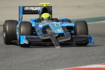 © Octane Photographic Ltd. GP2 Winter testing Barcelona Day 1, Tuesday 6th March 2012. Ocean Racing technology, Nigel Melker. Digital Ref : 0235cb7d0849