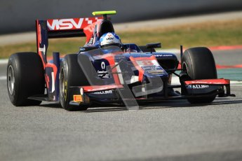 © Octane Photographic Ltd. GP2 Winter testing Barcelona Day 1, Tuesday 6th March 2012. iSport International, Jolyon Palmer. Digital Ref : 0235cb7d1095