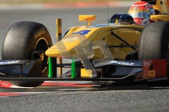 © Octane Photographic Ltd. GP2 Winter testing Barcelona Day 1, Tuesday 6th March 2012. DAMS, Felipe Nasr. Digital Ref : 0235cb7d1123