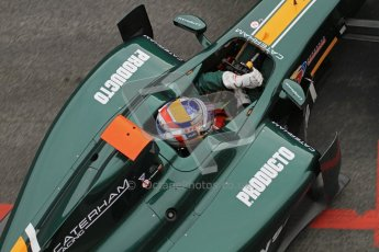 © Octane Photographic Ltd. GP2 Winter testing Barcelona Day 1, Tuesday 6th March 2012. Caterham Racing, Rodolfo Gonzales. Digital Ref : 0235lw7d5154