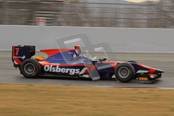 © Octane Photographic Ltd. GP2 Winter testing Barcelona Day 1, Tuesday 6th March 2012. iSport International, Marcus Ericsson. Digital Ref : 0235lw7d5784