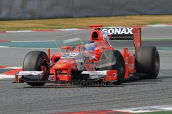 © Octane Photographic Ltd. GP2 Winter testing Barcelona Day 1, Tuesday 6th March 2012. Arden International, Simon Trummer. Digital Ref : 0235lw7d7046