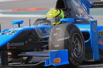 © Octane Photographic Ltd. GP2 Winter testing Barcelona Day 1, Tuesday 6th March 2012. Ocean Racing technology, Nigel Melker. Digital Ref : 0235lw7d7105