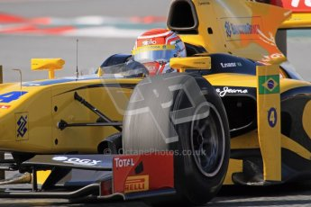 © Octane Photographic Ltd. GP2 Winter testing Barcelona Day 1, Tuesday 6th March 2012. DAMS, Felipe Nasr. Digital Ref : 0235lw7d7322