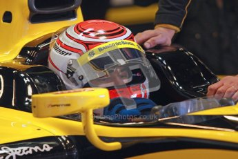 © Octane Photographic Ltd. GP2 Winter testing Barcelona Day 2, Wednesday 7th March 2012. DAMS, Felipe Nasr. Digital Ref : 0236cb1d4104
