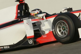 © Octane Photographic Ltd. GP2 Winter testing Barcelona Day 2, Wednesday 7th March 2012. Rapax, Ricardo Teixeira. Digital Ref : 0236cb1d4220