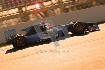 © Octane Photographic Ltd. GP2 Winter testing Barcelona Day 2, Wednesday 7th March 2012. Ocean Racing Technology, Jon Lancaster. Digital Ref : 0236cb1d4483