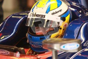 © Octane Photographic Ltd. GP2 Winter testing Barcelona Day 2, Wednesday 7th March 2012. iSport International, Marcus Ericsson. Digital Ref : 0236cb1d4586