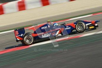 © Octane Photographic Ltd. GP2 Winter testing Barcelona Day 2, Wednesday 7th March 2012. iSport International, Jolyon Palmer. Digital Ref : 0236cb1d4647