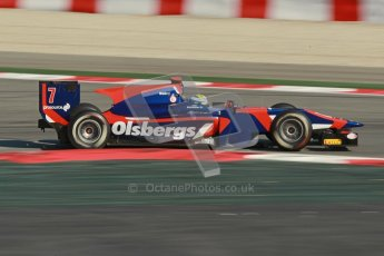 © Octane Photographic Ltd. GP2 Winter testing Barcelona Day 2, Wednesday 7th March 2012. iSport International, Marcus Ericsson. Digital Ref : 0236cb1d4677