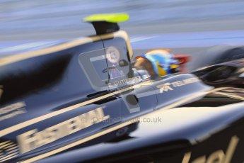 © Octane Photographic Ltd. GP2 Winter testing Barcelona Day 2, Wednesday 7th March 2012. Lotus GP, Esteban Gutierrez. Digital Ref : 0236cb7d1664