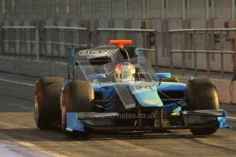 © Octane Photographic Ltd. GP2 Winter testing Barcelona Day 2, Wednesday 7th March 2012. Ocean Racing Technology, Jon Lancaster. Digital Ref : 0236lw7d7974