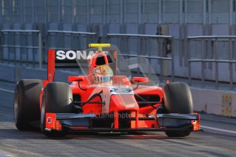 © Octane Photographic Ltd. GP2 Winter testing Barcelona Day 2, Wednesday 7th March 2012. Arden International, Luiz Razia. Digital Ref : 0236lw7d8077