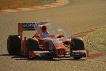 © Octane Photographic Ltd. GP2 Winter testing Barcelona Day 2, Wednesday 7th March 2012. Arden International, Simon Trummer. Digital Ref : 0236lw7d8619