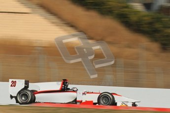 © Octane Photographic Ltd. GP2 Winter testing Barcelona Day 2, Wednesday 7th March 2012. Rapax, Ricardo Teixeira. Digital Ref : 0236lw7d8772