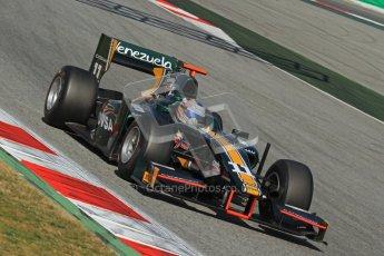 © Octane Photographic Ltd. GP2 Winter testing Barcelona Day 2, Wednesday 7th March 2012. Caterham Racing, Rodolfo Gonzales. Digital Ref : 0236lw7d9170