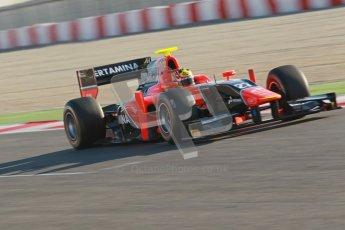 © Octane Photographic Ltd. GP2 Winter testing Barcelona Day 3, Thursday 8th March 2012. Marussia Carlin, Rio Haryanto. Digital Ref : 0237cb1d4927