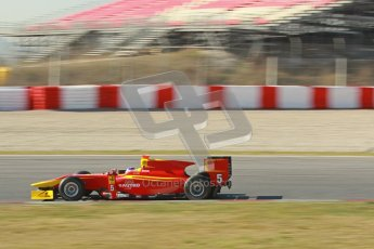 © Octane Photographic Ltd. GP2 Winter testing Barcelona Day 3, Thursday 8th March 2012. Racing Engineering, Fabio Leimer. Digital Ref : 0237cb1d5248