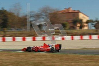 © Octane Photographic Ltd. GP2 Winter testing Barcelona Day 3, Thursday 8th March 2012. Arden International, Simon Trummer. Digital Ref : 0237cb1d5575
