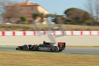 © Octane Photographic Ltd. GP2 Winter testing Barcelona Day 3, Thursday 8th March 2012. Lotus GP, James Calado, Racing Steps. Digital Ref : 0237cb1d5630