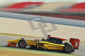 © Octane Photographic Ltd. GP2 Winter testing Barcelona Day 3, Thursday 8th March 2012. DAMS, Davide Valsecchi. Digital Ref : 0237cb1d5795