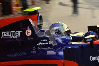 © Octane Photographic Ltd. GP2 Winter testing Barcelona Day 3, Thursday 8th March 2012. iSport International, Jolyon Palmer. Digital Ref : 0237cb7d2331
