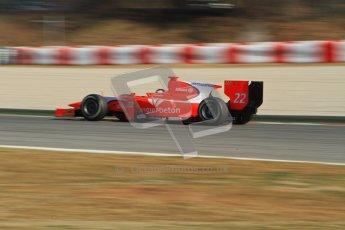 © Octane Photographic Ltd. GP2 Winter testing Barcelona Day 3, Thursday 8th March 2012. Arden International, Simon Trummer. Digital Ref : 0237lw7d0146