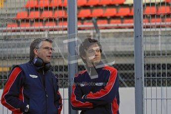 © Octane Photographic Ltd. GP2 Winter testing Barcelona Day 3, Thursday 8th March 2012. iSport International, Jolyon Palmer. Digital Ref : 0237lw7d9272