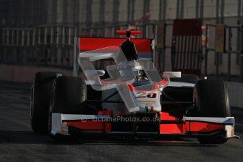 © Octane Photographic Ltd. GP2 Winter testing Barcelona Day 3, Thursday 8th March 2012. Rapax, Ricardo Teixeira. Digital Ref : 0237lw7d9358