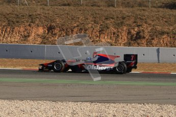© Octane Photographic Ltd. GP2 Winter testing Barcelona Day 3, Thursday 8th March 2012. iSport International, Marcus Ericsson. Digital Ref : 0237lw7d9532