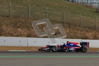 © Octane Photographic Ltd. GP2 Winter testing Barcelona Day 3, Thursday 8th March 2012. iSport International, Jolyon Palmer. Digital Ref : 0237lw7d9549