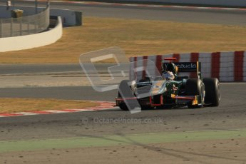 © Octane Photographic Ltd. GP2 Winter testing Barcelona Day 3, Thursday 8th March 2012. Caterham Racing, Rodolfo Gonzales. Digital Ref : 0237lw7d9617